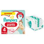 Pampers Premium Protection Pants maandbox maat 4 160 luierbroekjes en Aqua Pure 864 billendoekjes Pakket