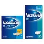 Nicotinell Pleisters Stap 2 en Zuigtabletten 1mg Pakket