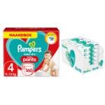 Pampers Baby-Dry Pants maandbox maat 4 160 luierbroekjes en Aqua Pure 864 billendoekjes Pakket