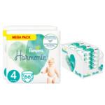 Pampers Harmonie maandbox maat 4 132 luiers en Aqua Pure 864 billendoekjes Pakket