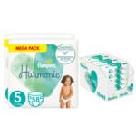 Pampers Harmonie maandbox maat 5 116 luiers en Aqua Pure 864 billendoekjes Pakket