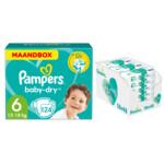 Pampers Baby-Dry maandbox maat 6 124 luiers en Aqua Pure 864 billendoekjes Pakket