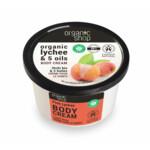 Organic Shop Pink Lychee Bodycrème