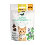 GimCat Kattensnack Crunchy Eend - Catnip