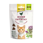 GimCat Kattensnack Soft Kip - Tijm