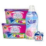 Color Reus Wasmiddel & Silan Passie voor Rozen Wasverzachter Voordeel Pakket