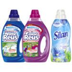 Witte - Color Reus wasmiddel & Silan Fris Lentegevoel Wasverzachter Voordeel Pakket