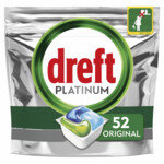 Dreft Platinum All In One Vaatwastabletten Regular