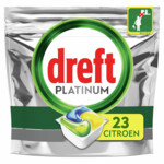 Dreft Platinum All In One Vaatwascapsules Lemon