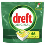 Dreft All-in-One Vaatwastabletten Lemon