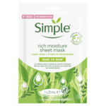 Simple Gezichtsmasker Rich Moisture