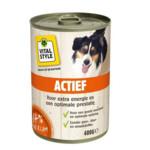 VITALstyle Hondenvoer Blik Actief