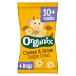 Organix Baby Knabbels 10+ m Kaas Ui  4x15 gr