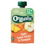 Organix Knijpfruit 12+m Appel Zoete Aardappel & Ananas