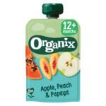 Organix Knijpfruit 12+m Appel Perzik & Papaya