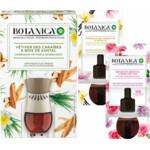 Botanica by Air Wick Elektrische Geurverspreider - Caribische Vetiver & Sandelhout - Starterkit + 1 Navulling Magnolia & Vanille + 1 Navulling Geranium & Rozen Pakket