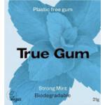 True Gum Plastic Vrije Kauwgom Strong Mint