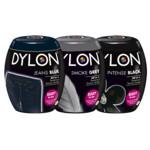 Dylon Textielverf - Intense Black, Smoke Grey & Blue Jeans Pakket