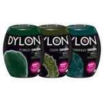 Dylon Textielverf - Forest Green, Olive Green & Emerald Green Pakket