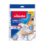 Vileda Turbo 3in1 - Vervanging Wit Rood Blauw