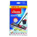 Vileda UltraMax Power 2in1 XL - Vervanging Wit Rood