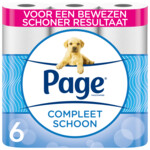 Page Toiletpapier Compleet Schoon