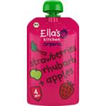 Ella's kitchen Strawberry Rhubarb & Apple 4+ m