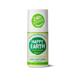 Happy Earth Pure Deodorant Roll-On Unscented