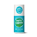 Happy Earth Pure Deodorant Roll-On Cedar Lime