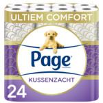 4x Page Toiletpapier Kussenzacht