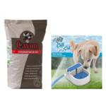 Cavom Compleet Hondenvoer Lam - Rijst & Afp Waterbak Pakket