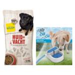 Ecostyle Hondenvoer Huid & Vacht & Afp Waterbak Pakket