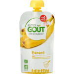 Good Gout BIO Fruit Puree Baby Banaan