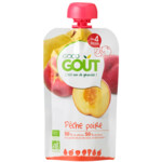 Good Gout BIO Fruit Puree Baby Peer en Perzik