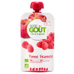 Good Gout BIO Fruit Puree Baby Appel en Framboos