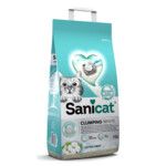 Sanicat Kattenbakvulling Clumping White Cotton Fresh  10 liter