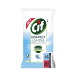Cif Disinfect & Shine Ocean Wipes