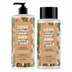Love Beauty and Planet Shea butter en Sandalwood Douche Pakket