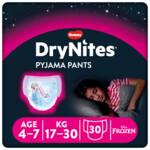 3x DryNites Absorberende Luierbroekjes Girl 4-7 jaar
