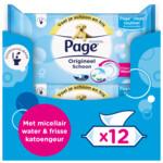 12x Page Vochtig Toiletpapier Fresh