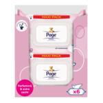6x Page Vochtig Toiletpapier Sensitive