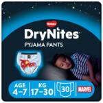 3x DryNites Absorberende Luierbroekjes Boy 4-7 jaar