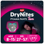 3x DryNites Absorberende Luierbroekjes Girl 8-15 jaar