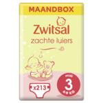 Zwitsal Luiers Midi Maat 3 Maandbox