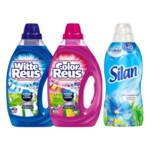 Witte + Color Reus Wasmiddel & Silan Wasverzachter Voordeel Pakket