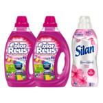 Color Reus Vloeibaar Wasmiddel & Silan Wasverzachter Voordeel Pakket