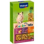 Vitakraft Hamster Kracker Trio Honing - Noot - Fruit
