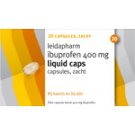 Leidapharm Ibuprofen 400 mg Liquid Caps
