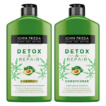 John Frieda Detox & Repair Shampoo + Conditioner Pakket