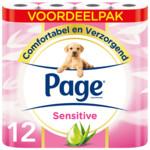 2x Page Toiletpapier Sensitive Aloe Vera